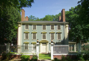 Royall House, west facade